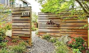 Красивые деревянные заборы + фото