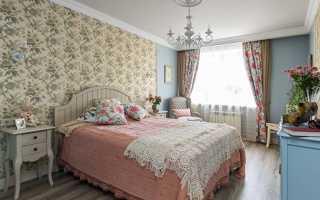 Спальня в стиле прованс + фото
