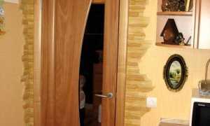 Отделка дверных проемов декоративным камнем + фото