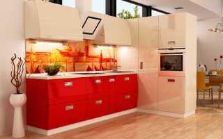 Цвета кухонных гарнитуров: зеленый, серый, бежевый, синий, сочетания цветов, фото