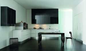Стеклянные фасады для кухни из закаленного стекла: причины установки и интересный дизайн
