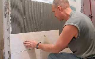 Как класть плитку на стену на кухне: своими руками на штукатурку, шпаклевку