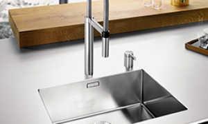 Кухонные мойки Blanco: раковина Бланко для кухни врезная, из искусственного камня