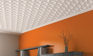 Потолок – как сделать красивый, необычный, дешевый: чертеж, из чего делать