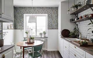 Какие обои выбрать для кухни: варианты и виды обоев для кухонного интерьера