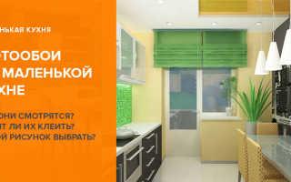 Фотообои на кухню расширяющие пространство: в интерьере маленькой кухни